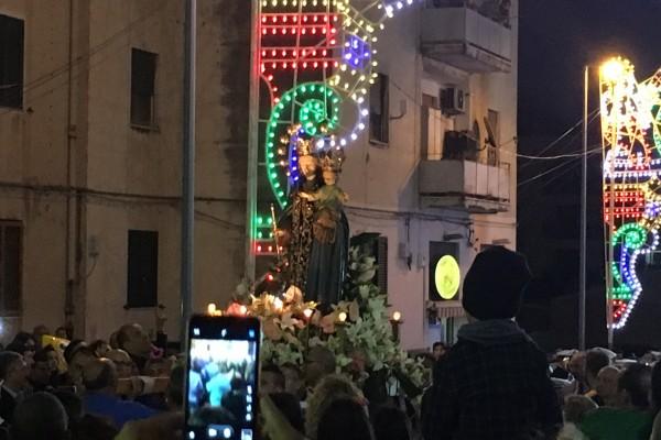 La processione di S.S. Maria Ausiliatrice su Tremedia