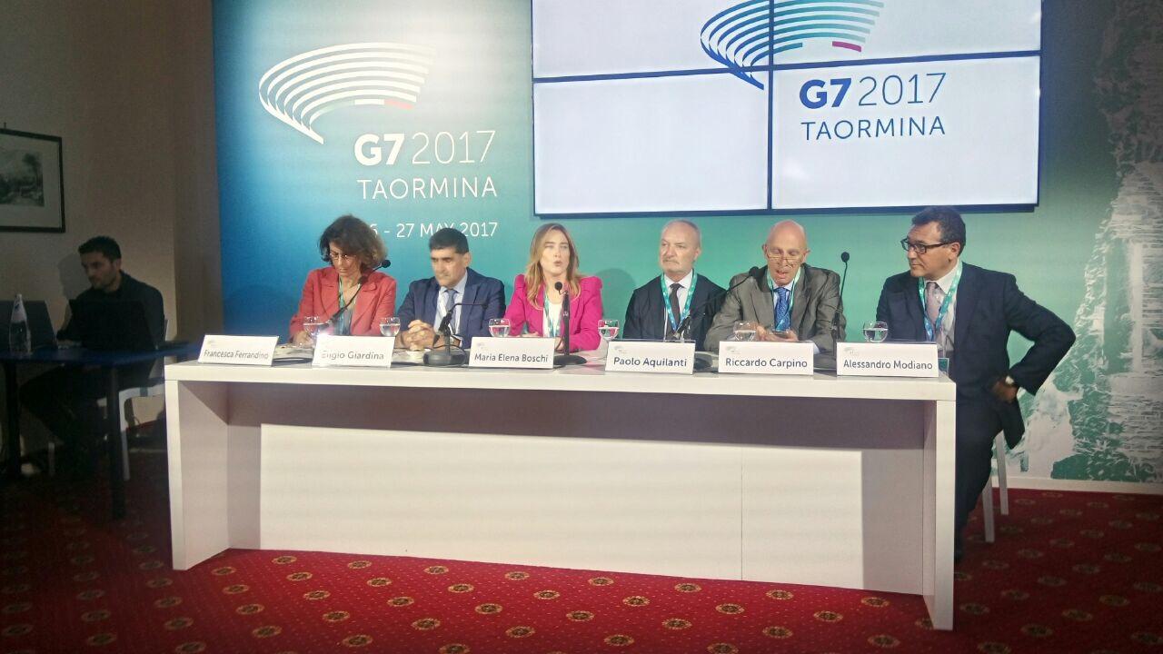 G7, la Boschi oggi a Taormina non ha dubbi