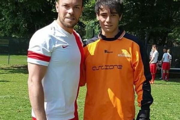 Sanfilippo, a gonfie i primi mesi milanesi da studente-calciatore