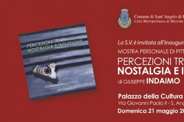 Sant'Angelo di Brolo ospita il vernissage di Giuseppe Indaimo
