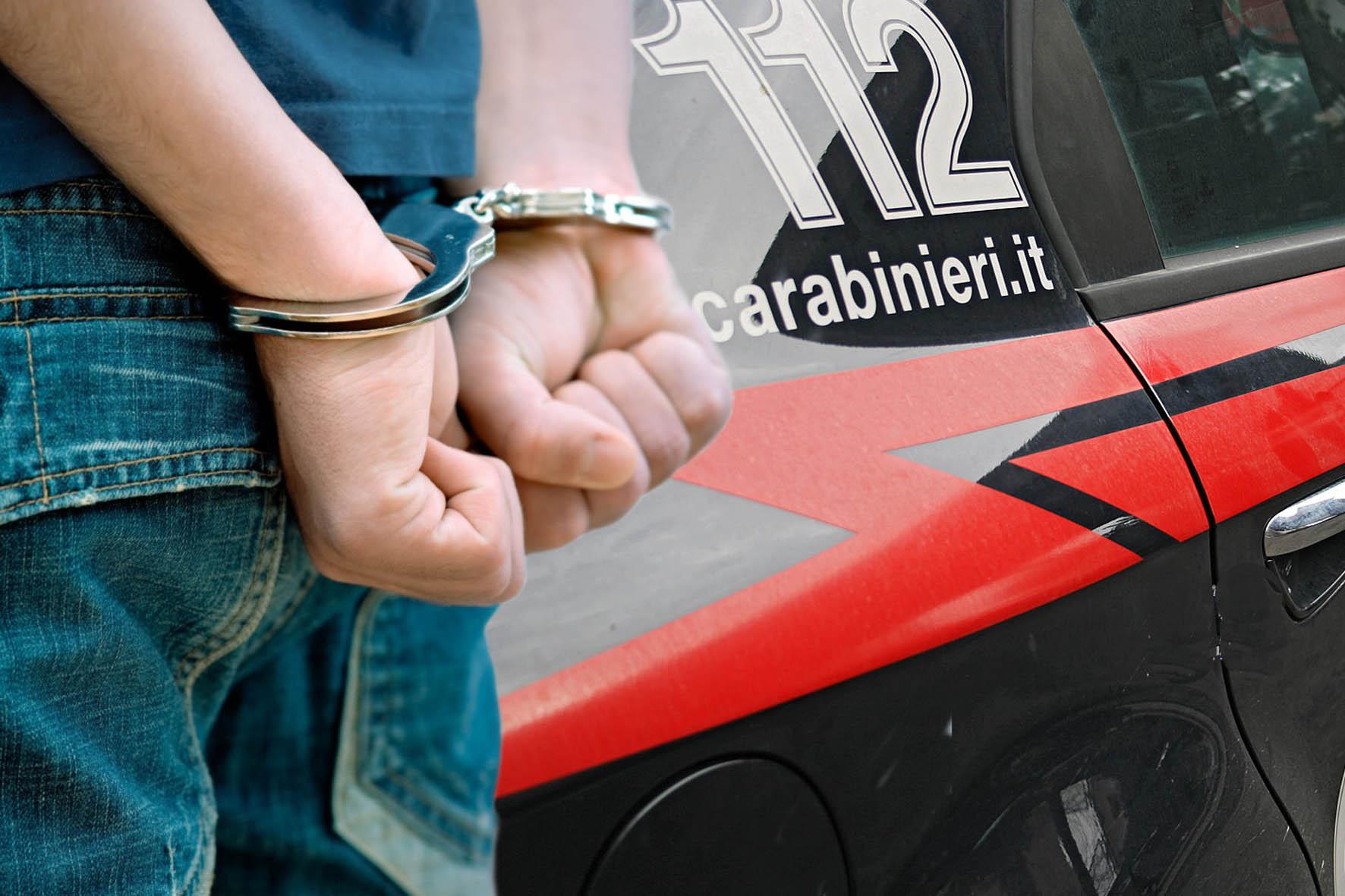 Stalking all'ex compagna: arrestato dai carabinieri