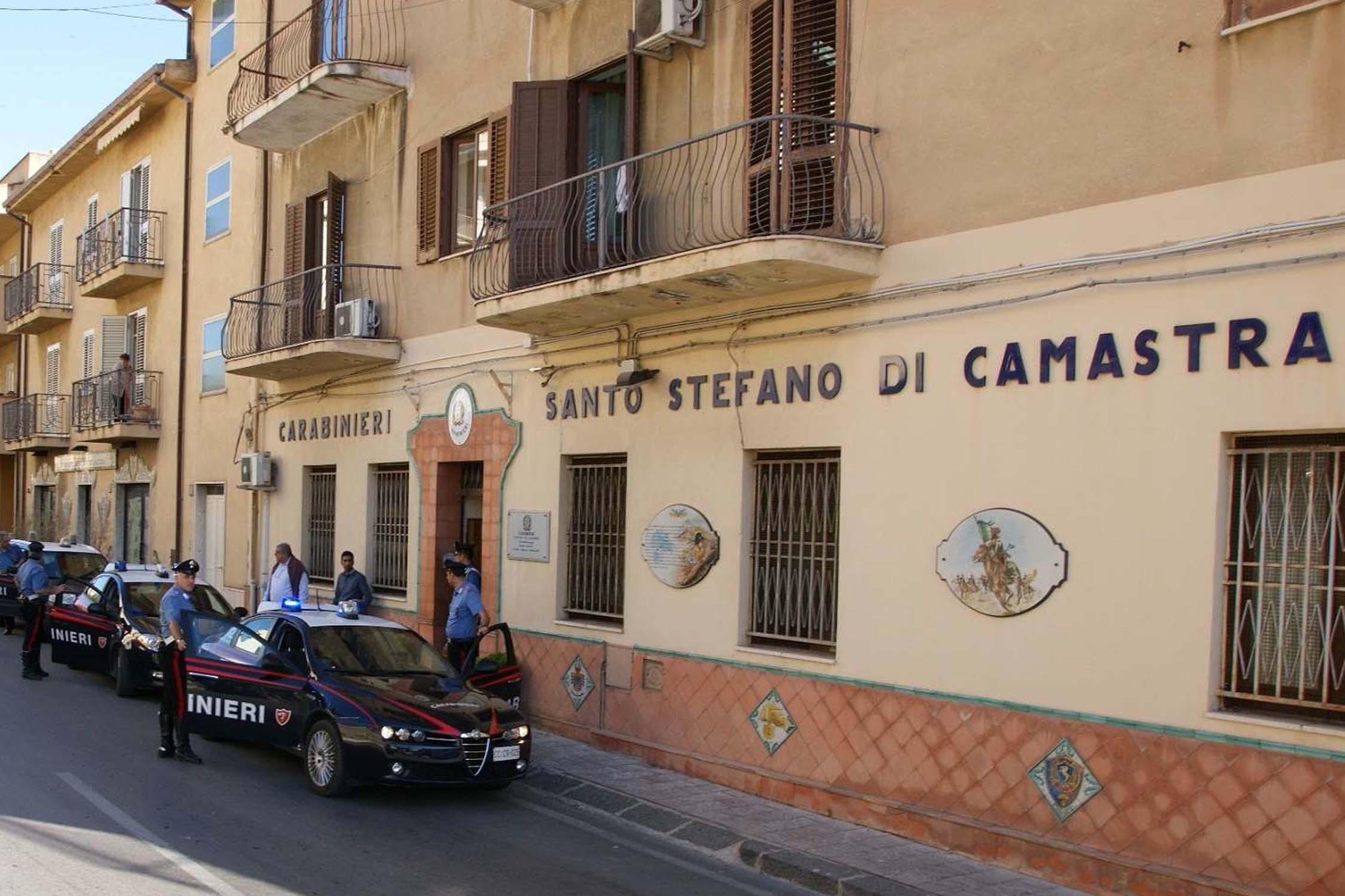 S. Stefano di Camastra: evade dai domiciliari per farsi curare una ferita, 25enne rintracciato dai carabinieri al Pte
