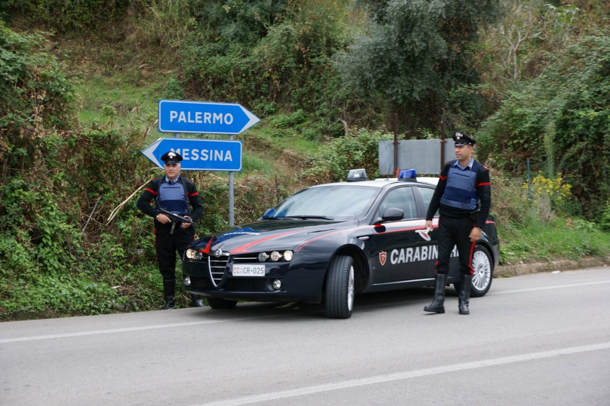 Nebrodi: controlli dei carabinieri in allevamento