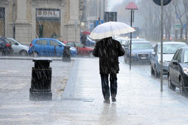 Meteo, giornata molto piovosa