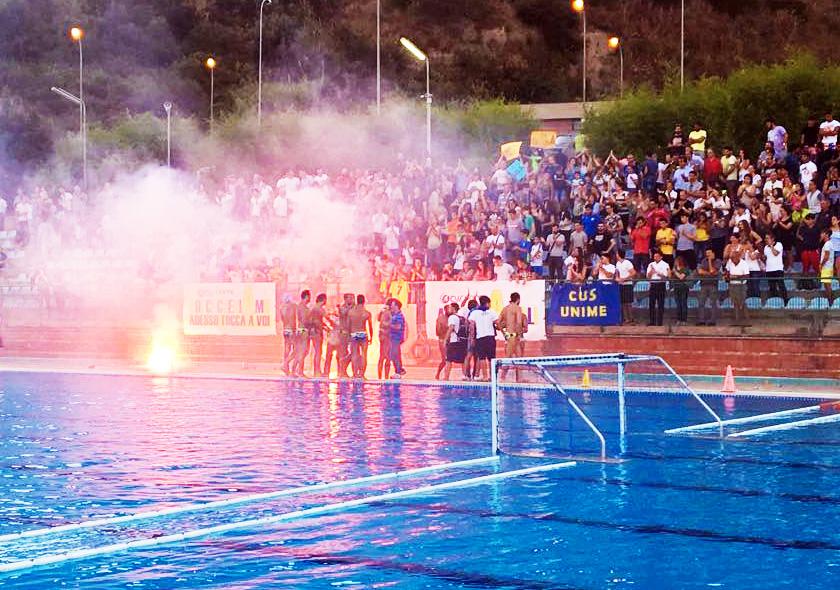 Pescara battuto 8-7. Cus Unime a gara 3