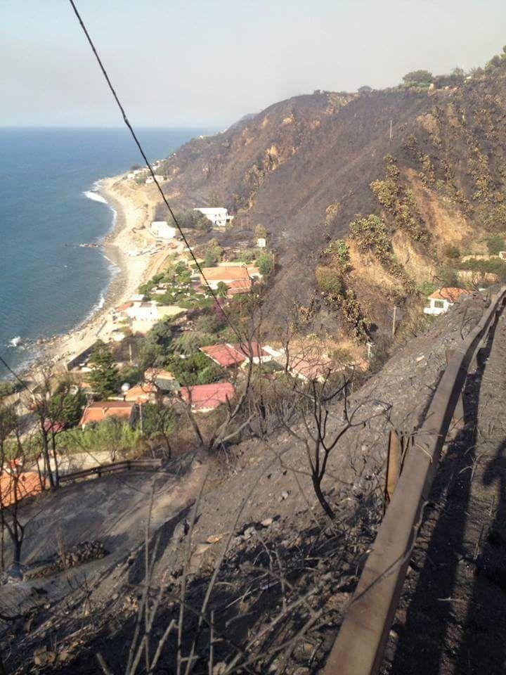 Incendi, interi villaggi della zona nord restano senz'acqua