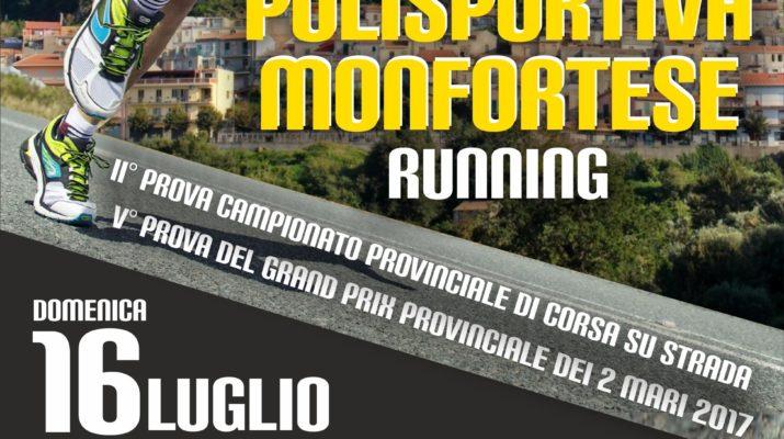 Domenica al via seconda edizione del Trofeo Polisportiva Monfortese Running