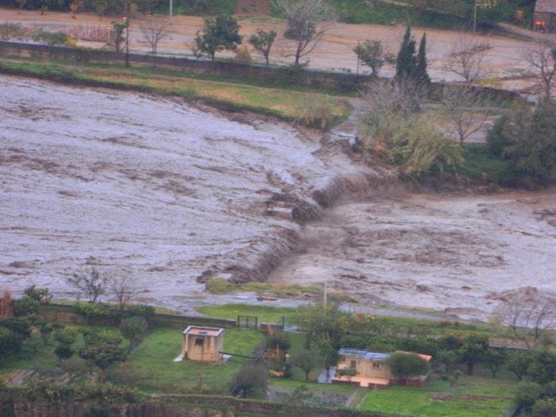 """Esondazione Torrente Mela, Comitato Bastione: """"Gli abitanti si chiedono se il sindaco è interessato al problema"""""""