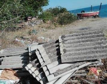 Amianto-killer sulla spiaggia di Tono, ennesimo Sos di Biancuzzo