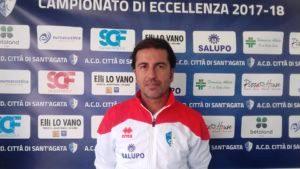 Città di S.Agata, è Bellinvia il nuovo trainer