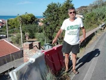 """Biancuzzo: """"Guardrail e muro da ripristinare sulla Ss 113 a San Saba"""""""