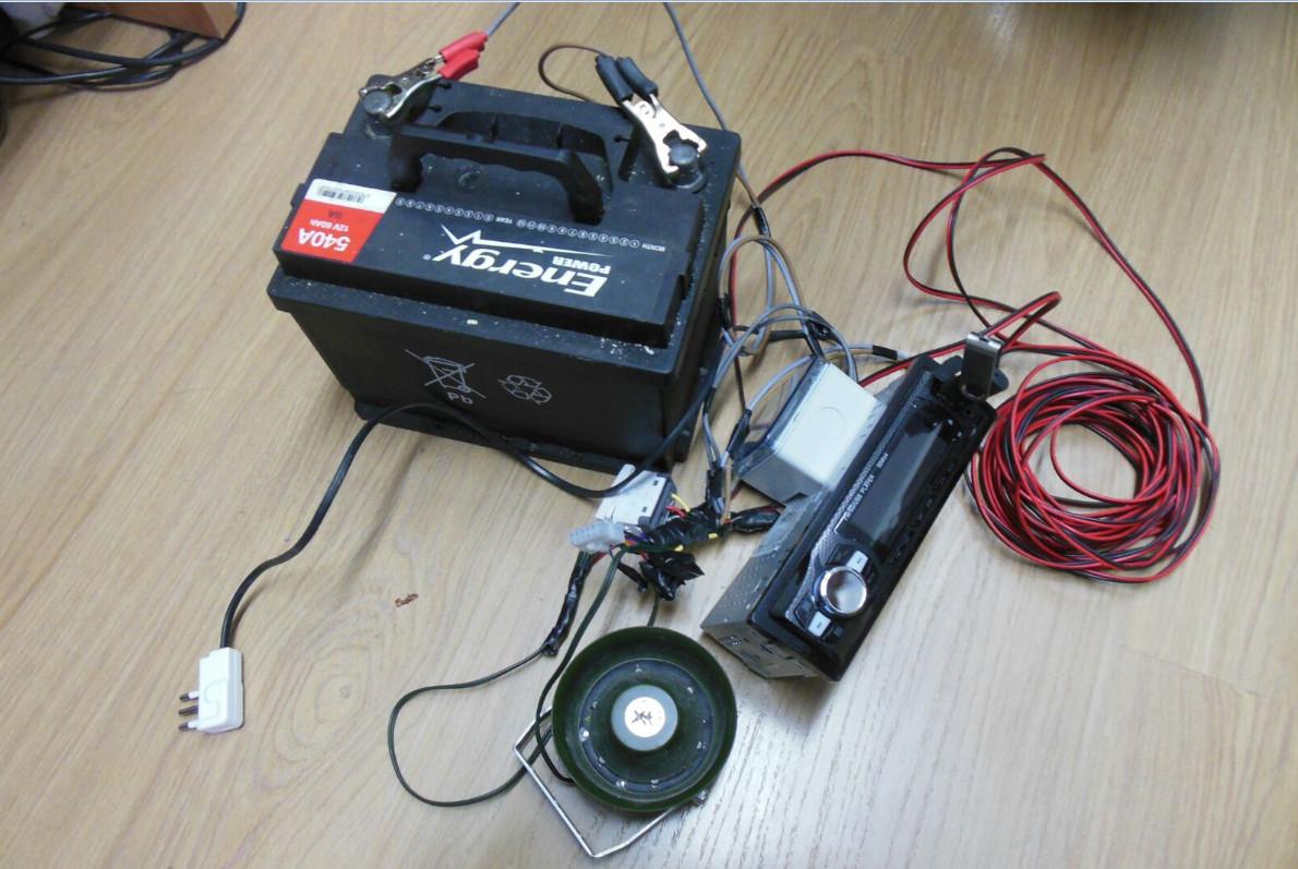 Caccia illegale, la polizia metropolitana sequestra apparati acustici