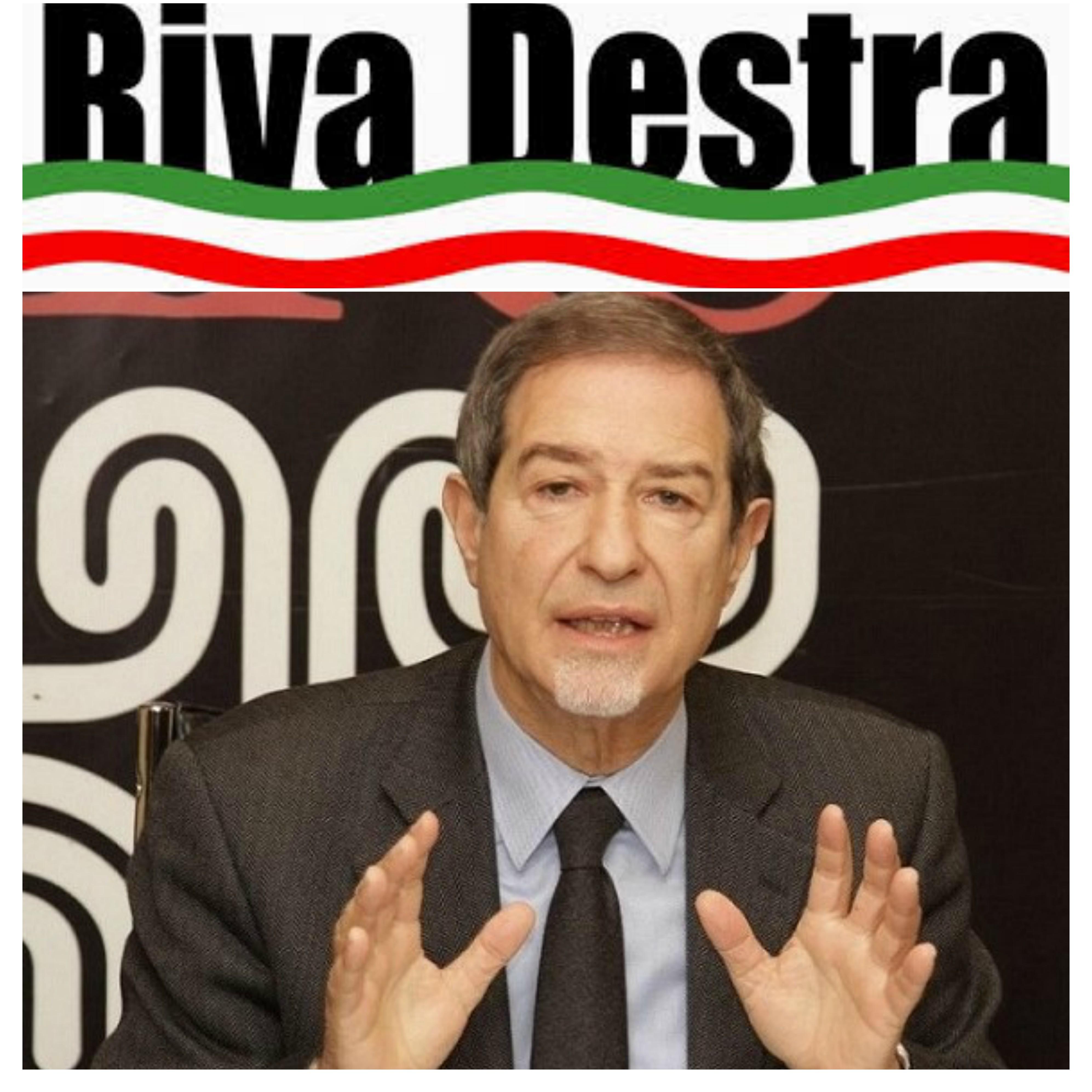 Riva Destra si schiera con Musumeci: 'Lui è l'unica speranza per la Sicilia'