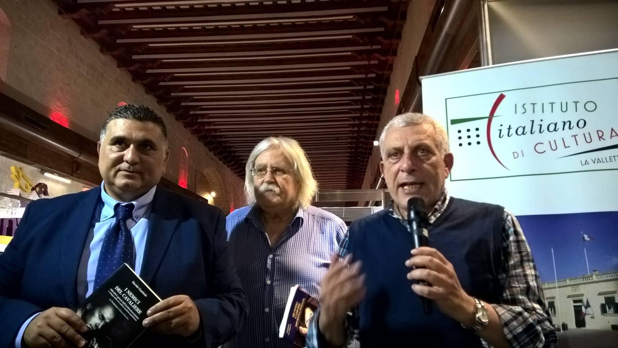 """""""I Nemici del Cavaliere"""" approda a Malta, presentato il volume di Gambale"""
