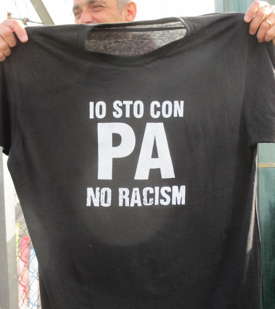"""""""Io sto con Pa – No Racism"""": Pistunina e S.Adrano solidali con Pa' Keita"""