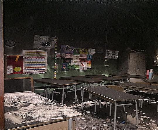 Incendio Scuola Pascoli – Crispi, Alagna e Pino: Dopo pulizia e bonifica, si procederà ad agibilità. Noi tempestivi
