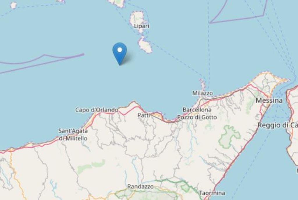 Terremoto nel Basso Tirreno, tremano le isole Eolie