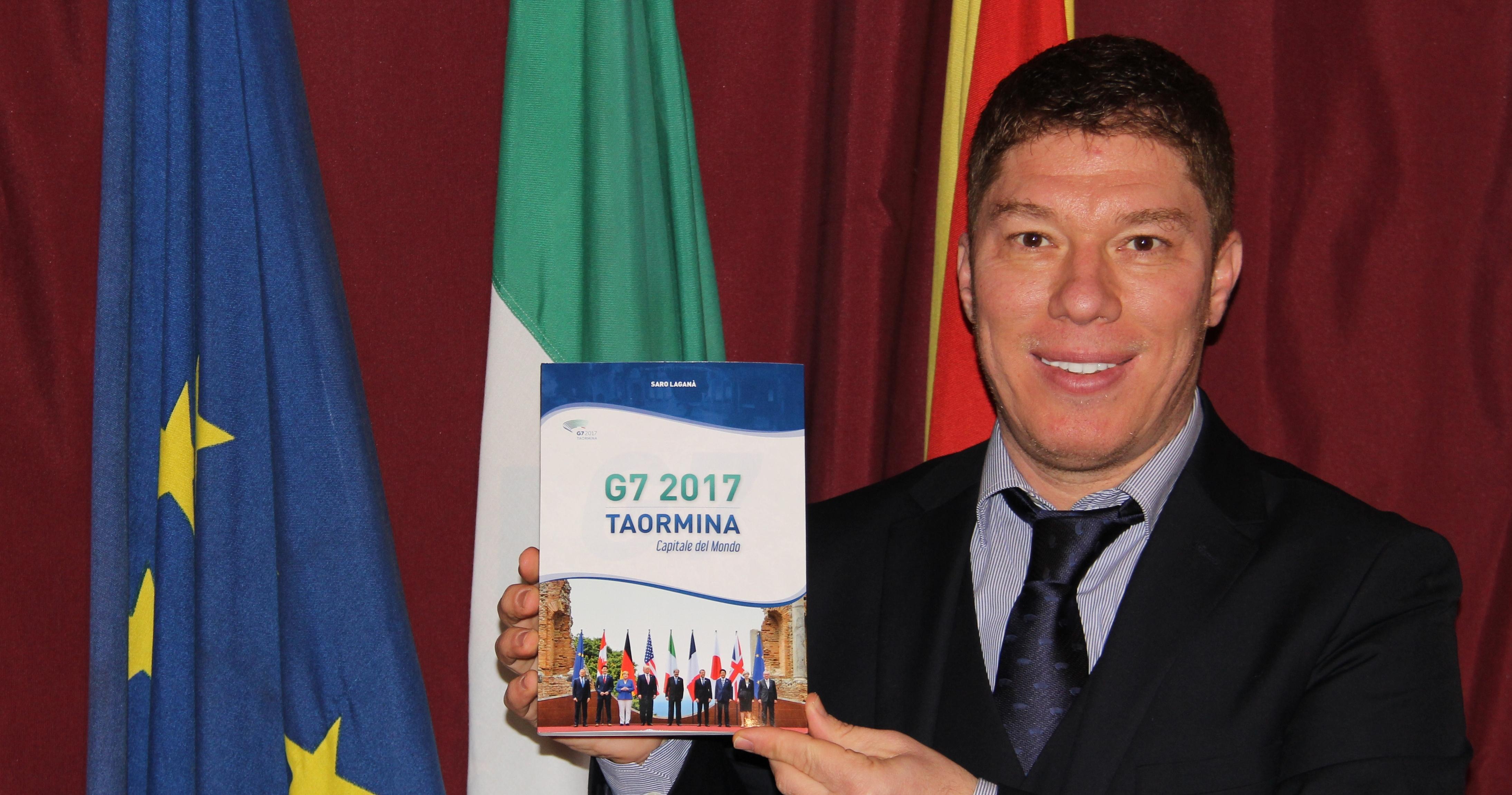 """Saro Laganà """"racconta"""" in un libro il G7 di Taormina"""