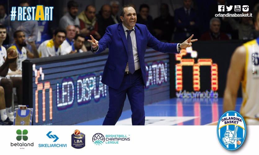 Basket, stasera Capo d'Orlando-Brescia. Di Carlo: 'Servirà orgoglio e voglia di combattere'