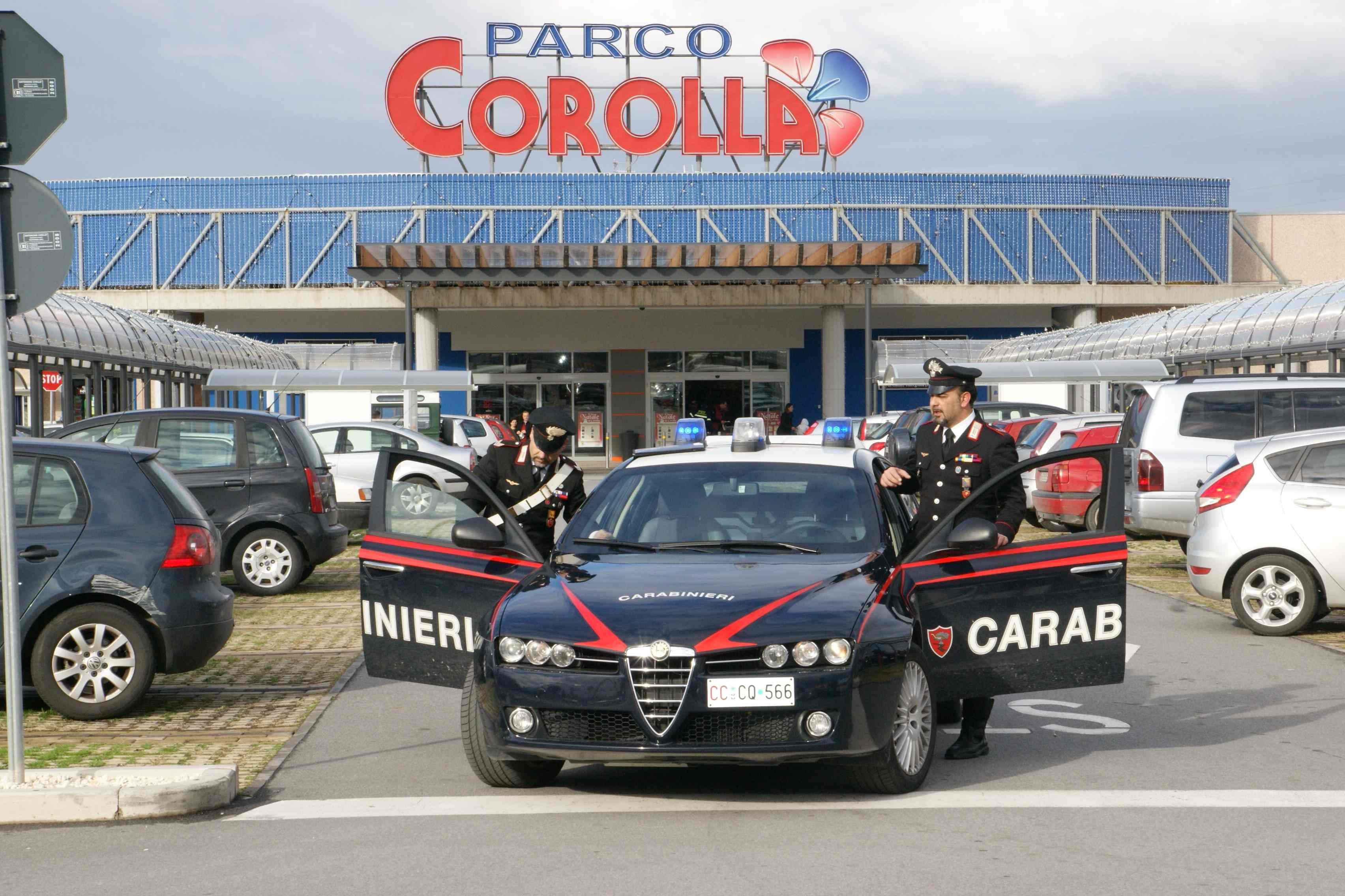 Rubano al Parco Corolla, due denunciati a Milazzo