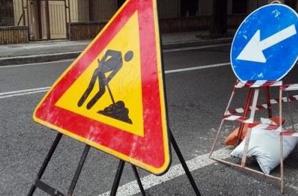 Salita Larderia: interventi per il ripristino di un tratto di strada