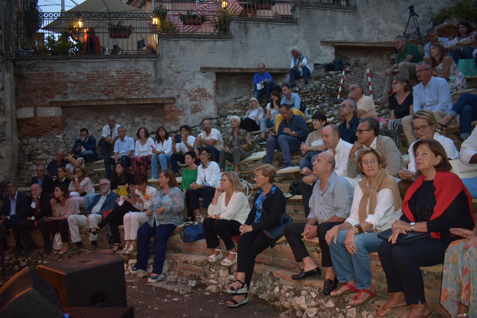 L'Odeon di Taormina torna a vivere grazie al jazz di Anna Bonomolo