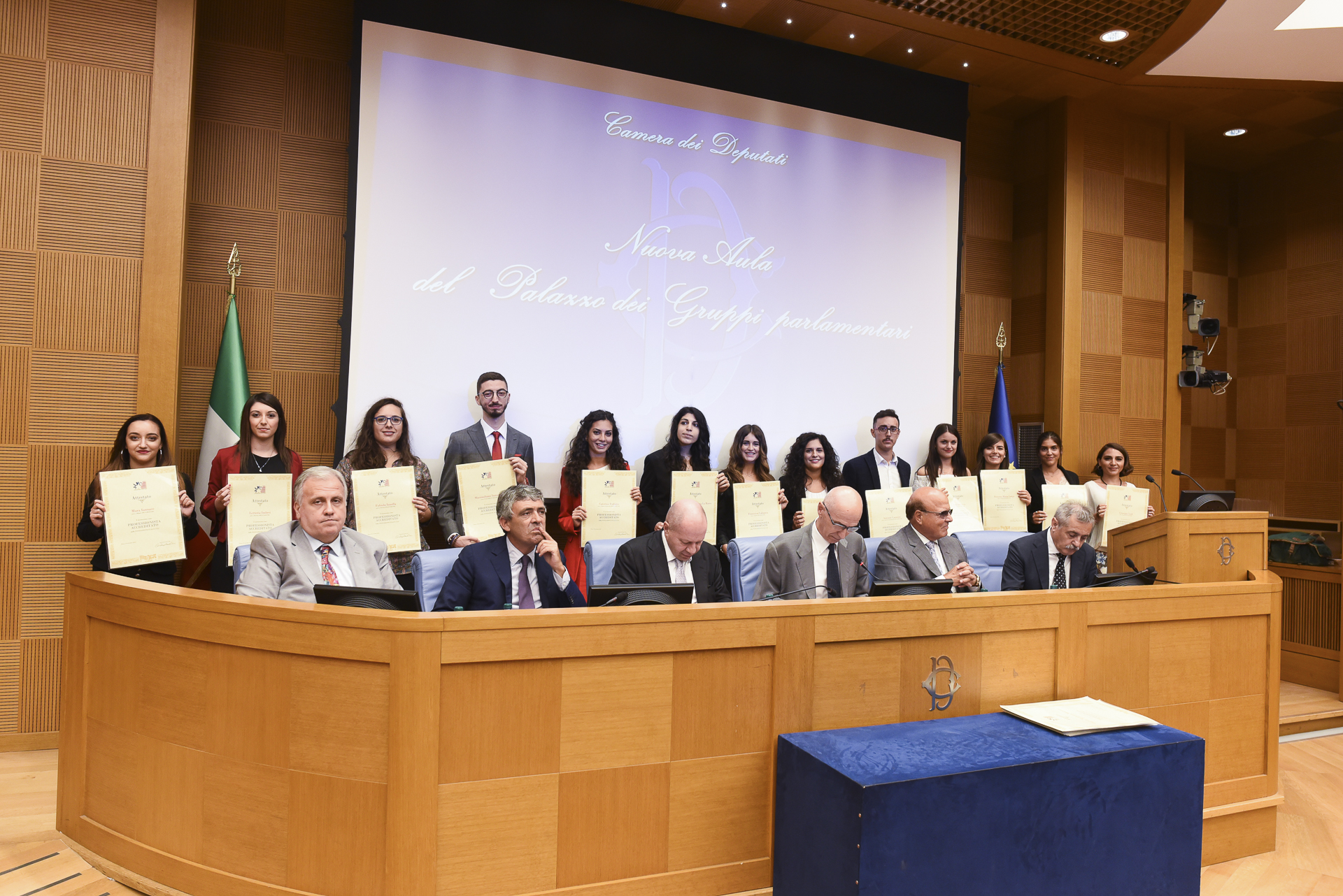 Premiati 217 studenti alla Camera dei Deputati: 9 sono originari del Messinese