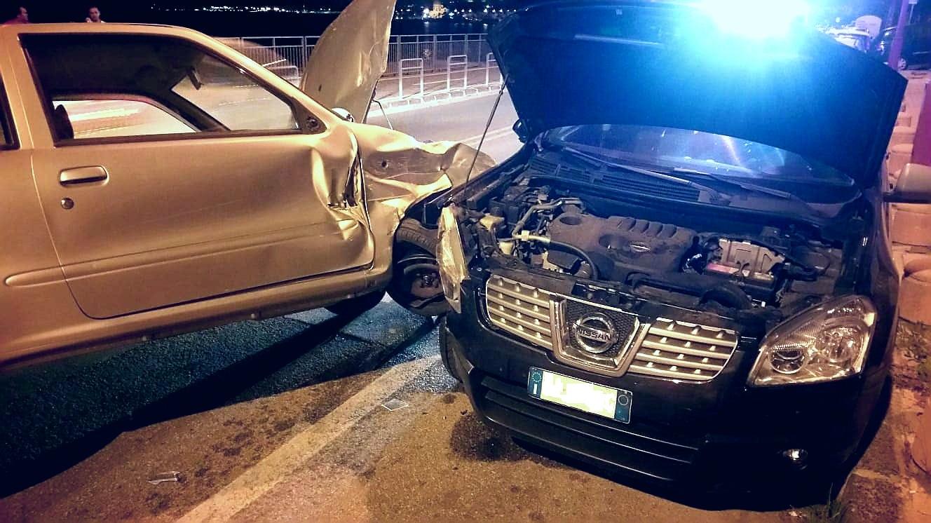 Incidente in via Consolare Pompea: un ferito