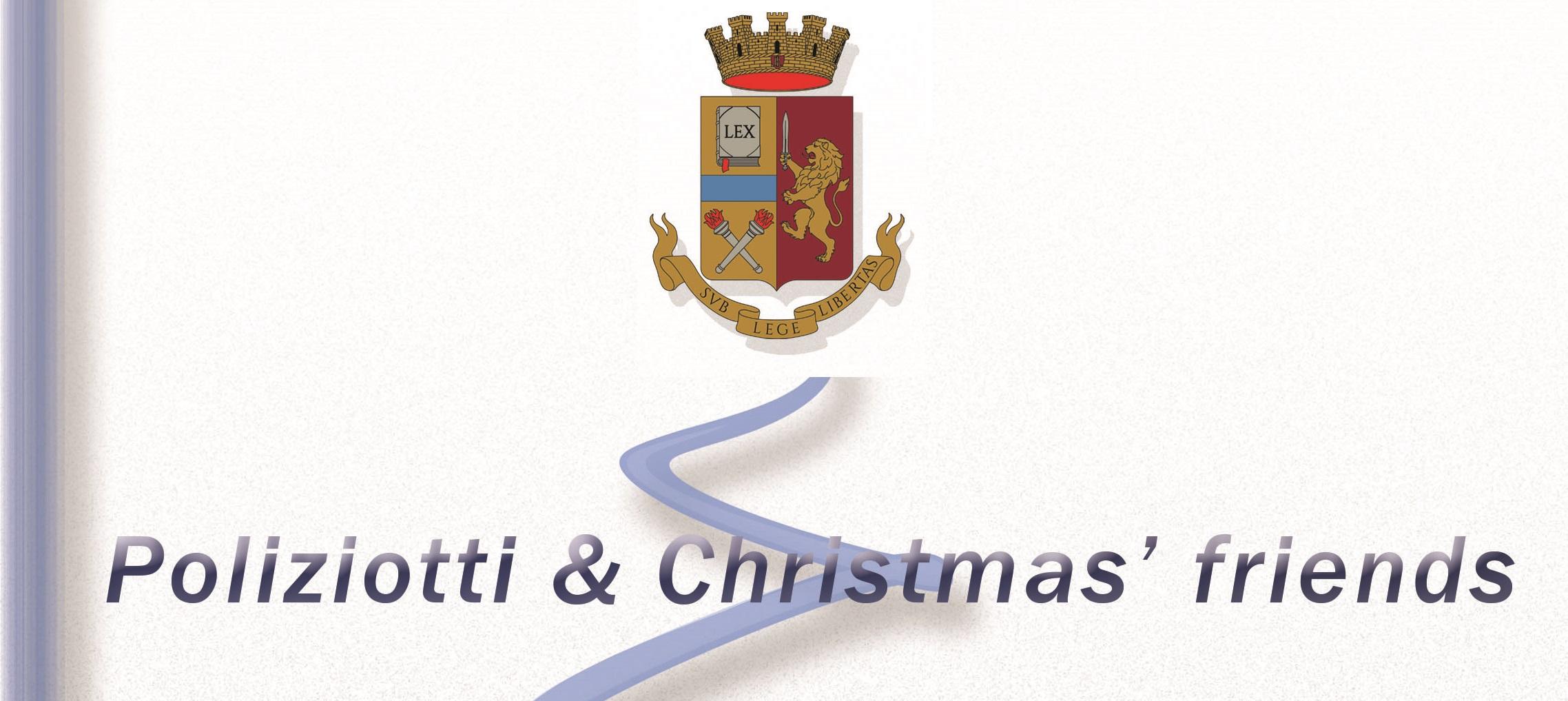 """""""Poliziotti & Christmas'Friends"""", domani gli agenti scalderanno il cuore dei bimbi del Policlinico"""