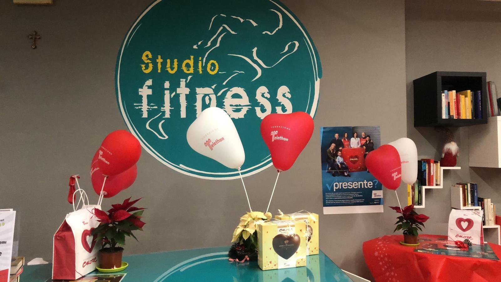 """La """"Studio fitness"""" ha promosso la solidarietà Telethon"""