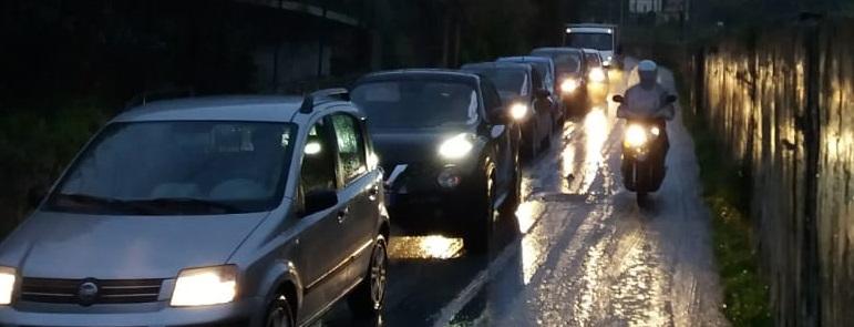 Incidente a San Michele: l'intero rione rimane isolato