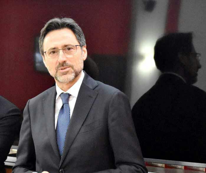 Vito Calvino primo giorno da questore di Messina con un'agenda piena di impegni
