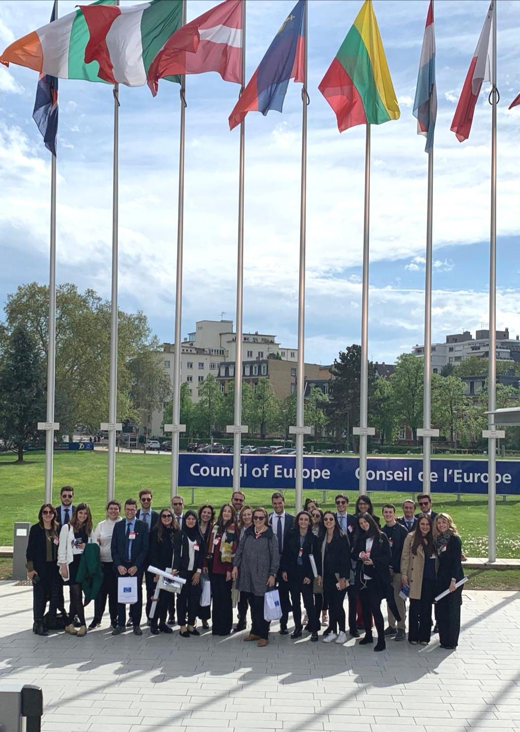 Unime Giurisprudenza Calendario Esami.Studenti Unime Visitano La Cedu E Le Istituzioni Europee