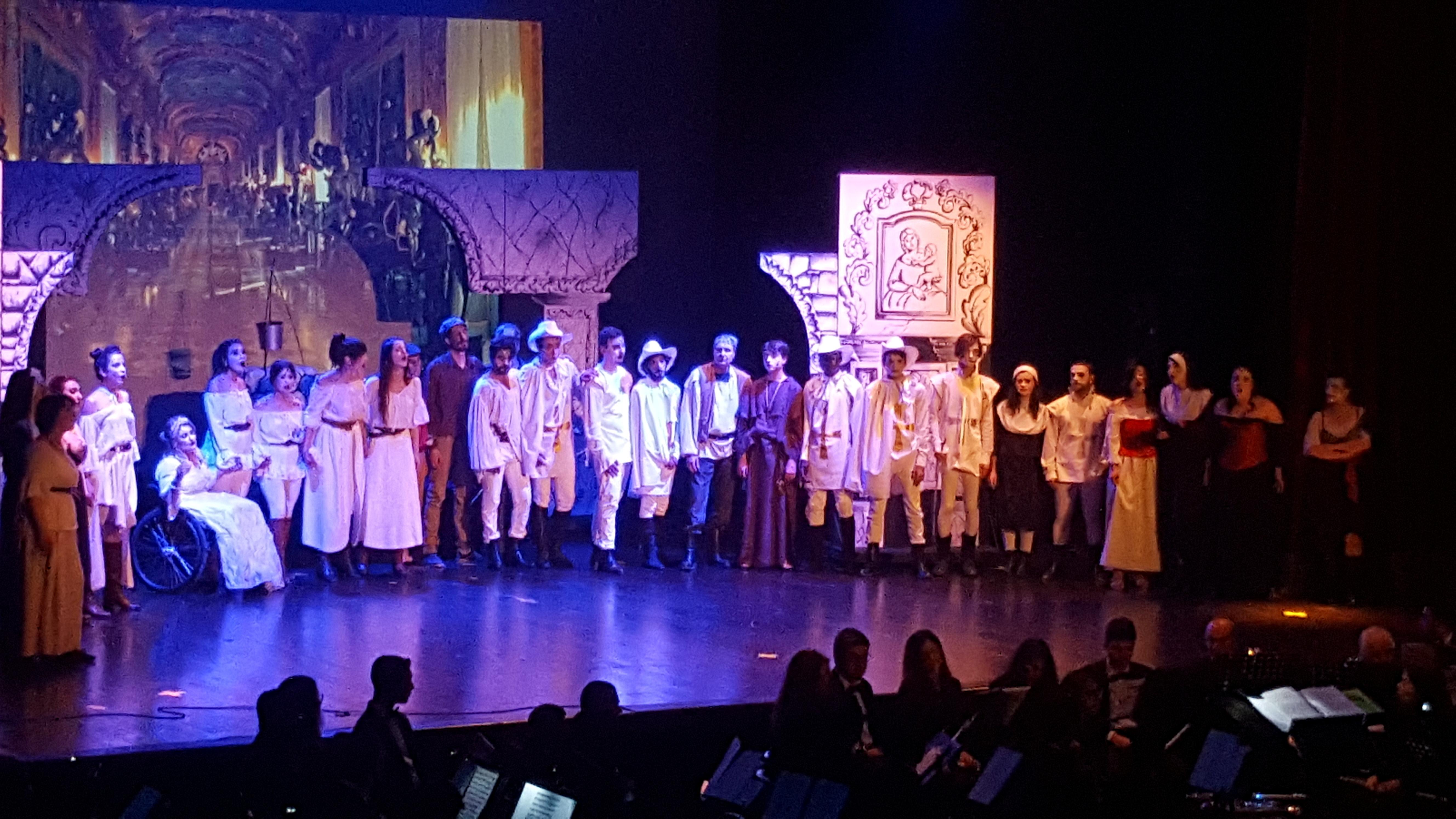 Il D'Artagnan di Sasà Neri conquista il pubblico del  Teatro Mandanici