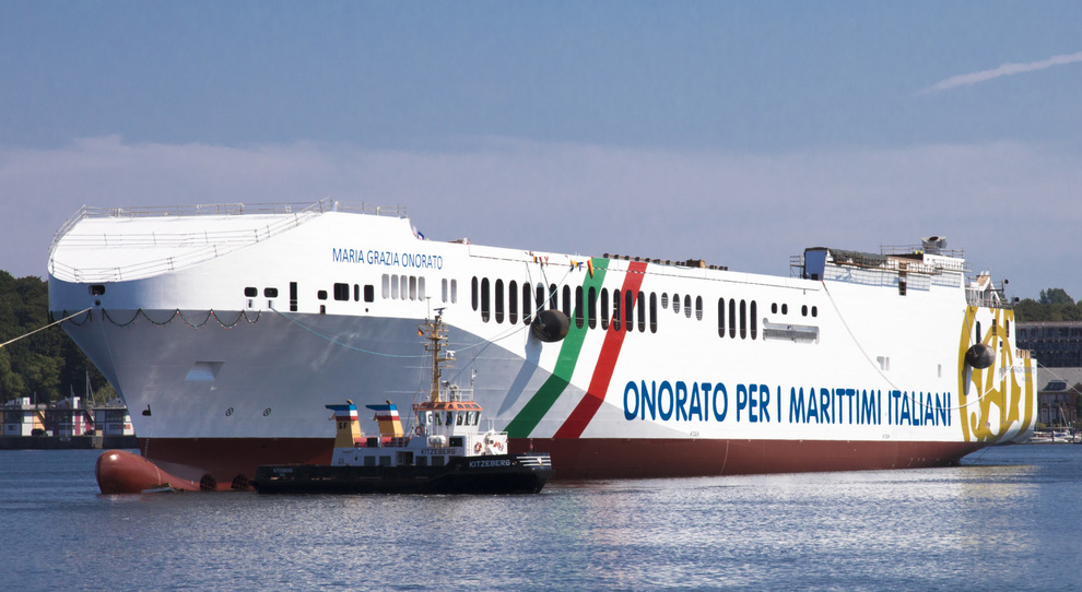 """Viaggio inaugurale della """"Maria Grazia Onorato"""""""
