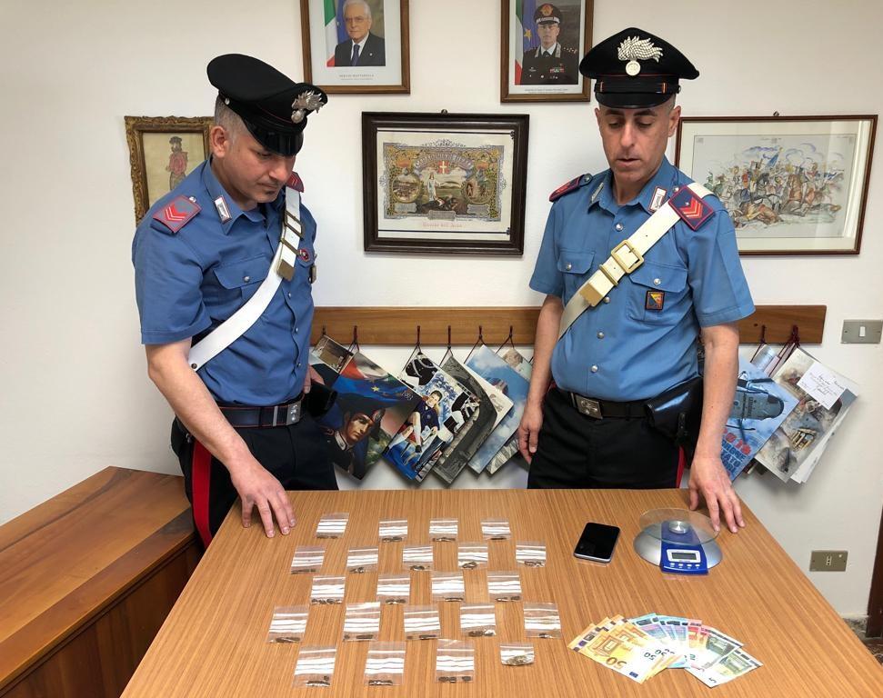 Furnari, pusher romeno arrestato dai carabinieri