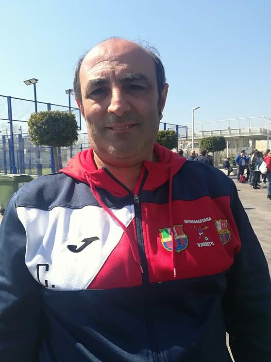 Giovanni Cucinotta, mister messinese vincente nell'Intercasertana