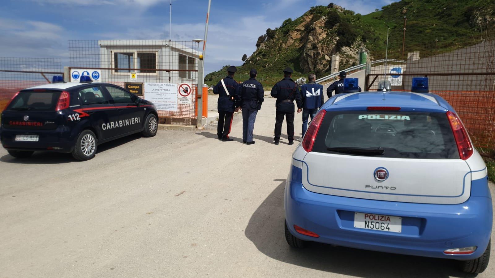 Dia, ispezioni antimafia presso un cantiere di Mistretta