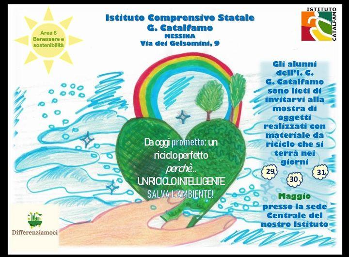"""""""Differenziamoci"""", s'inaugura la mostra dell'Istituto comprensivo """"Catalfamo"""""""