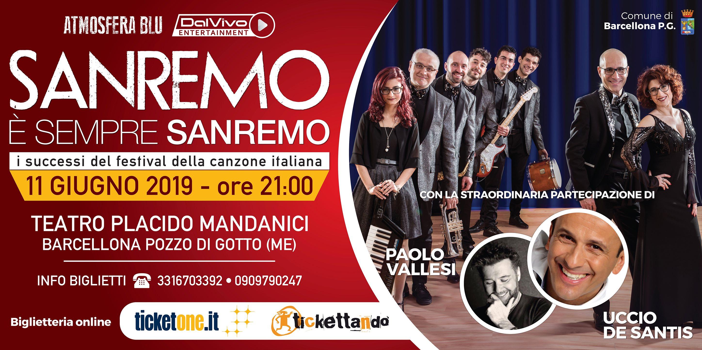 Sanremo è sempre Sanremo. Gli Atmosfera Blu tornano al Teatro Mandanici