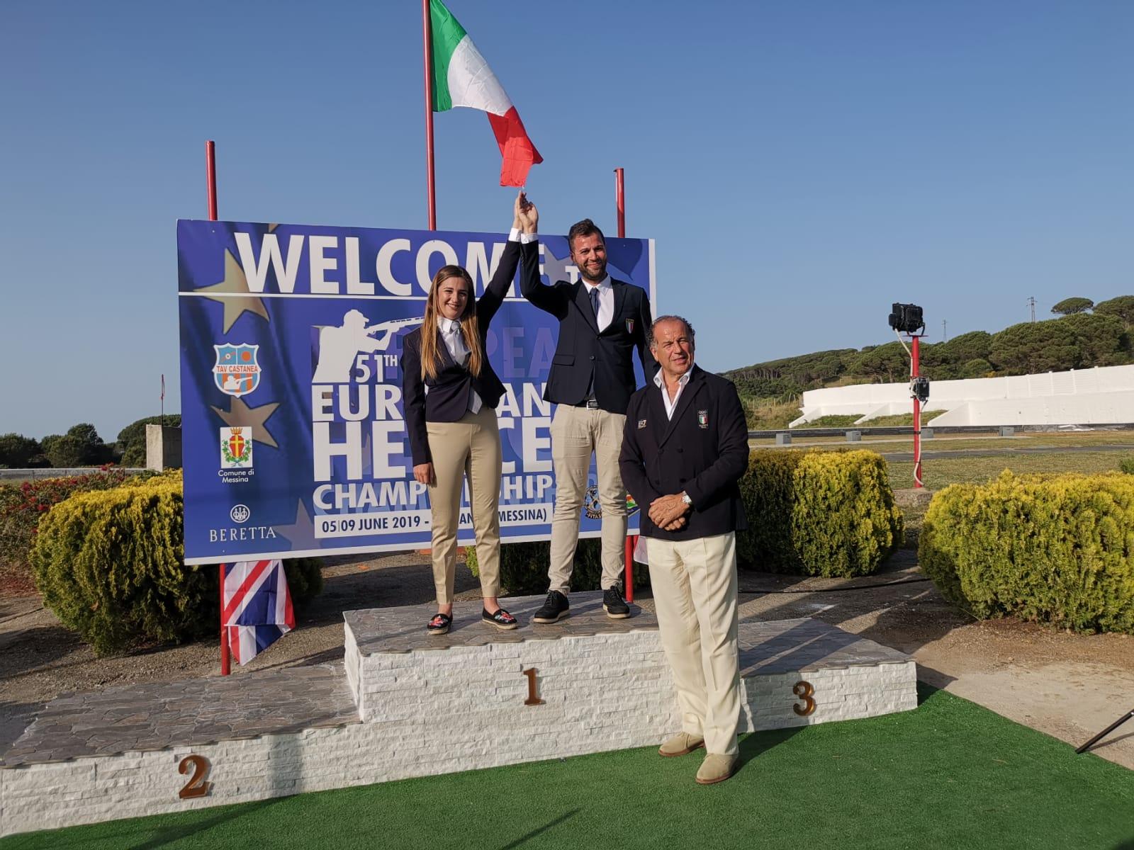 Europei di tiro a volo, il messinese Bruno vince il campionato