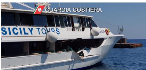 Eolie, collisione traghetto-yacht: ci sono 5 feriti