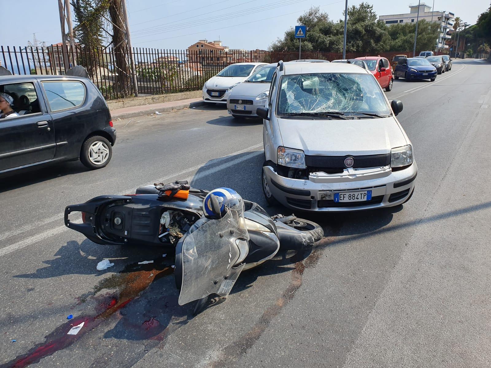 Contesse: motociclista rischia di perdere un braccio dopo incidente