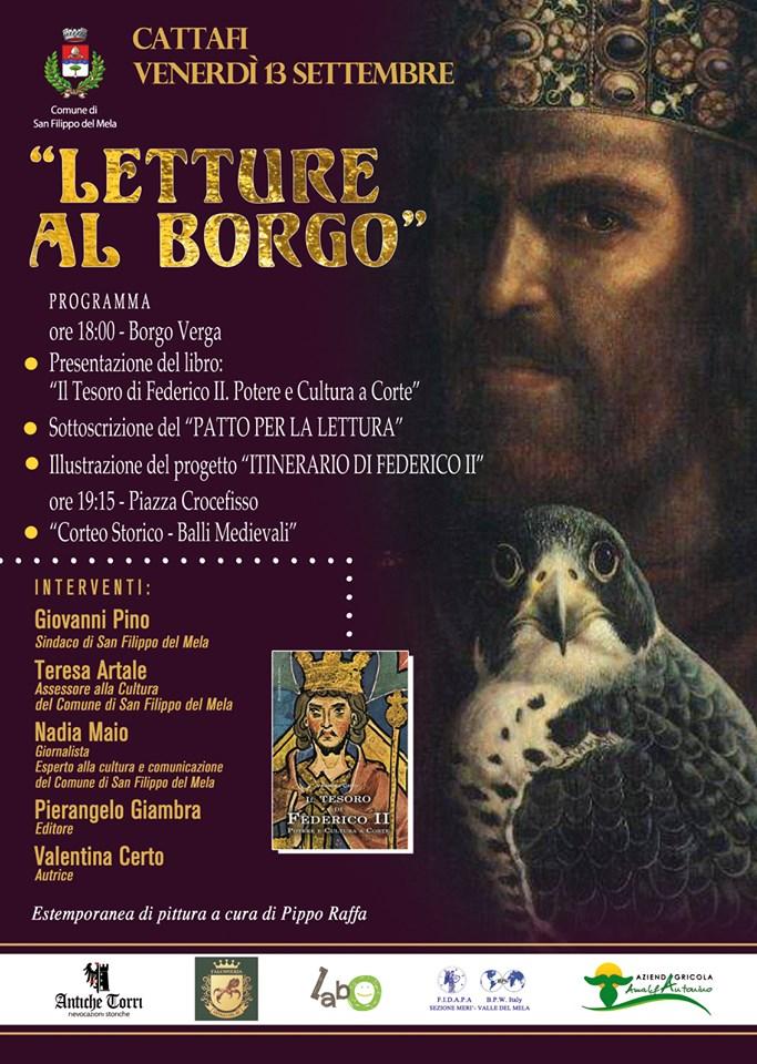 Al via Lettura al Borgo. Inaugura la kermesse Valentina Certo