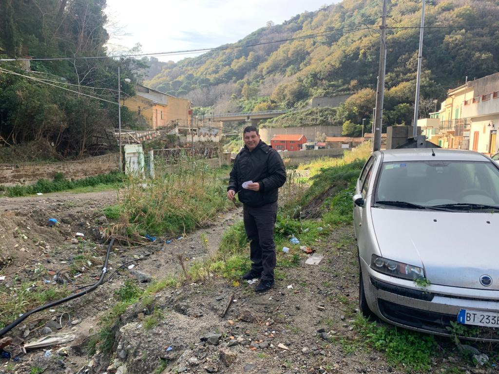 """San Michele, Bucalo: """"Ci siamo quasi per la pulizia del torrente"""""""