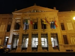 Sventolano nuovi vessilli a Palazzo Zanca