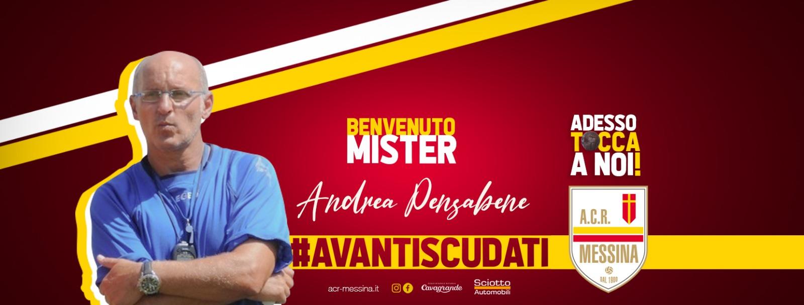 Andrea Pensabene nuovo allenatore dell'ACR Messina