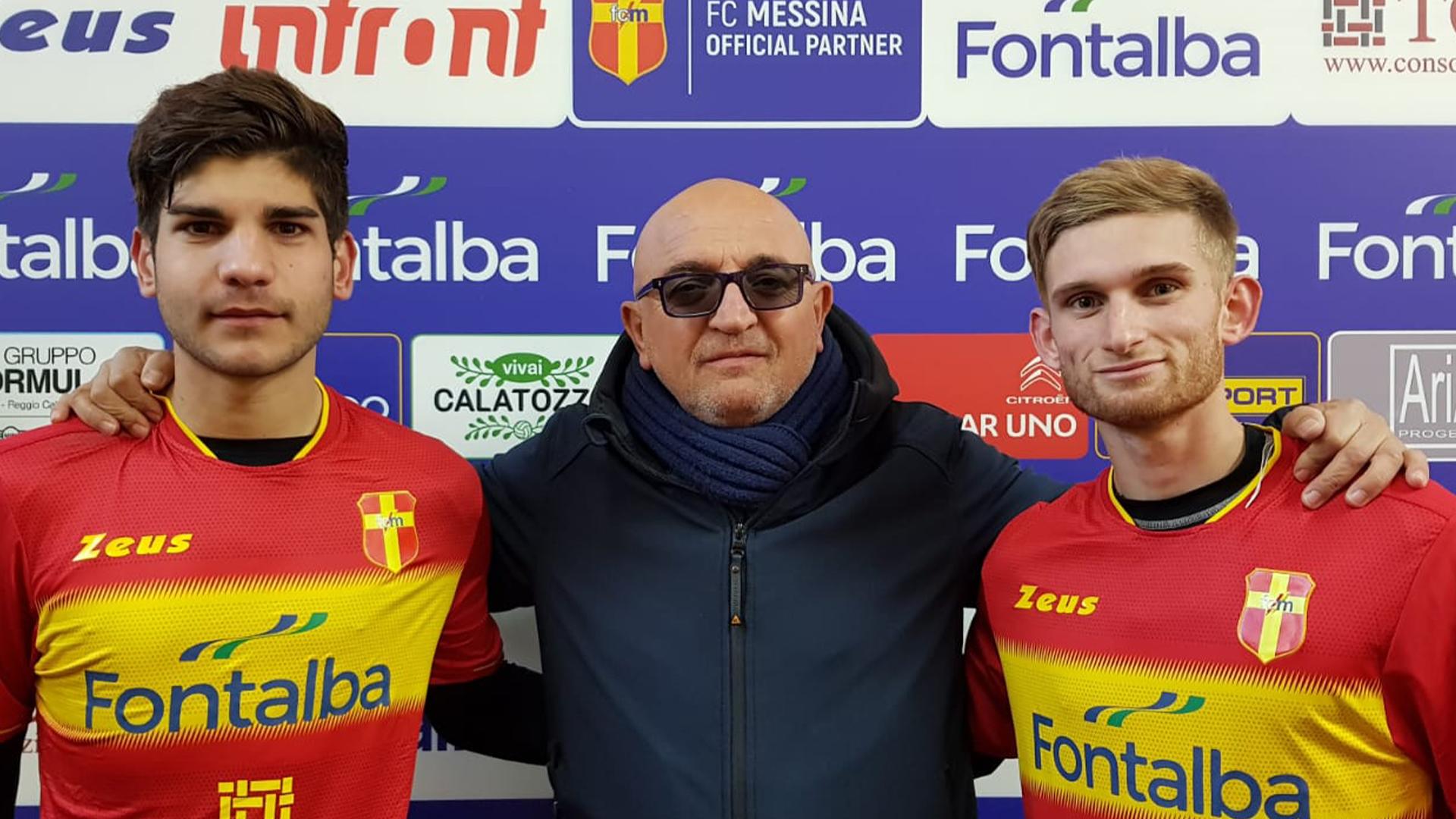 FC Messina: ingaggiati gli under Guzman, Benoit e Gnicewicz