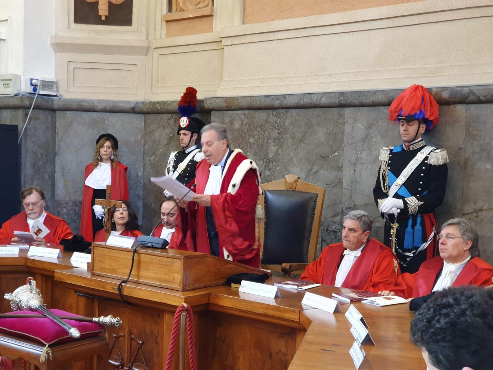 """Galluccio: """"Messina la più penalizzata d'Italia"""". Protestano gli avvocati"""