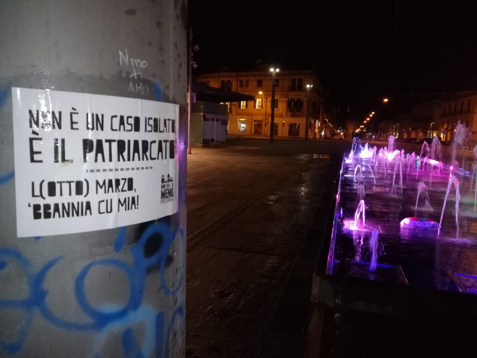 "Messina grida: ""Basta femminicidi"""